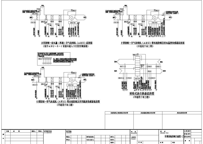 某大厦空调自控设计cad图纸图片3