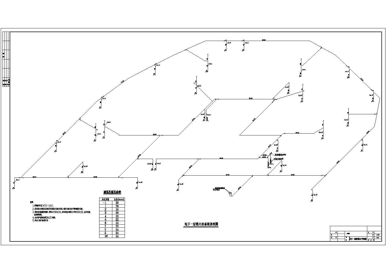 某高层地下车库消防设计施工图图片1