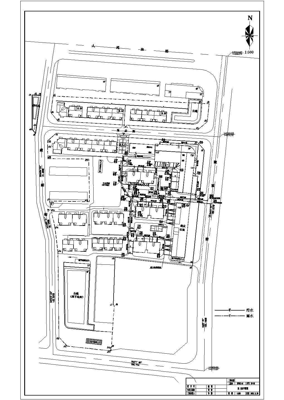 【邯郸】某商住小区室外管网工程图纸图片1