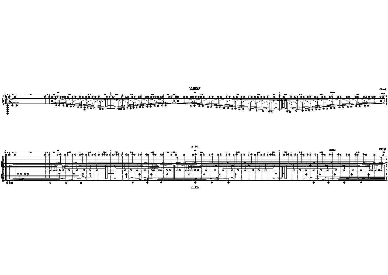 50+80+100+80+50米连续刚构桥上部结构设计图(68张)图片3