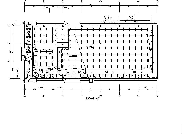 某洁净厂房电气施工图(含电气设计说明)图片2