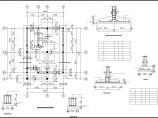 某二层框混别墅结构CAD参考图图片1