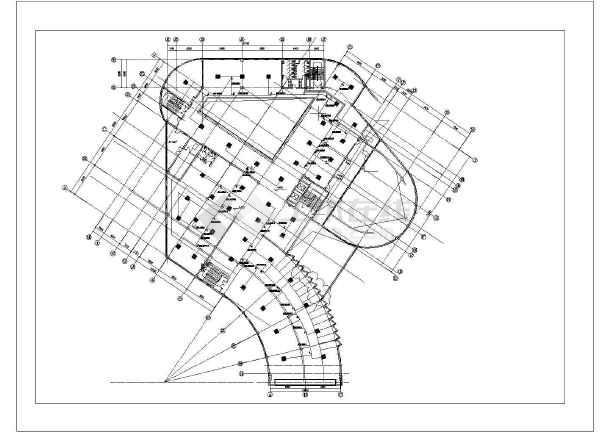 某处展览馆暖通空调设计(共8张)-图二