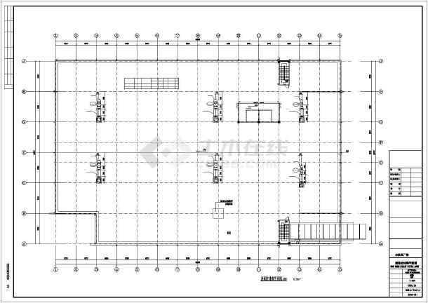 点击查看某印刷厂暖通施工图第2张大图