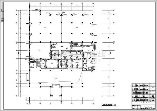 点击查看汽车4s店暖通施工图第2张大图