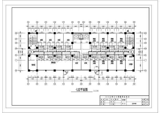 公安局11层办公指挥大楼暖通设计-图二