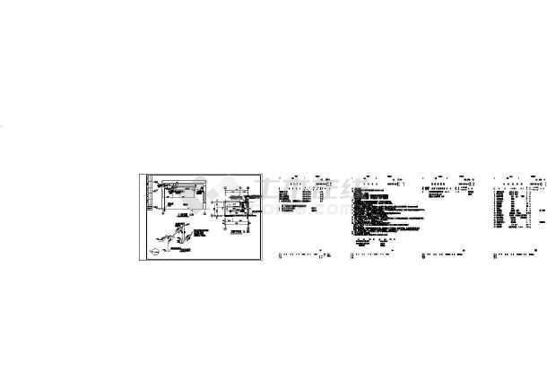 点击查看某污水厂暖通施工图第2张大图