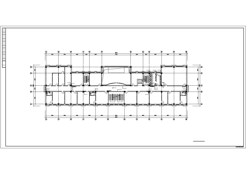 某部队6层综合办公楼给排水设计图纸图片1
