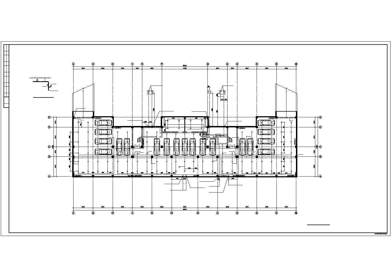 某部队6层综合办公楼给排水设计图纸图片2