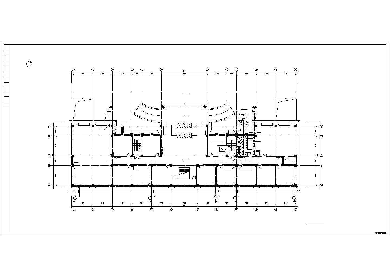 某部队6层综合办公楼给排水设计图纸图片3