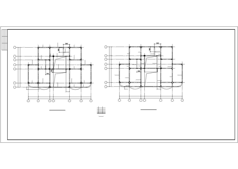 某别墅结构设计图,共11张图片2