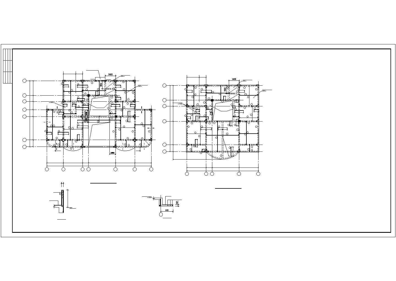 某别墅结构设计图,共11张图片3