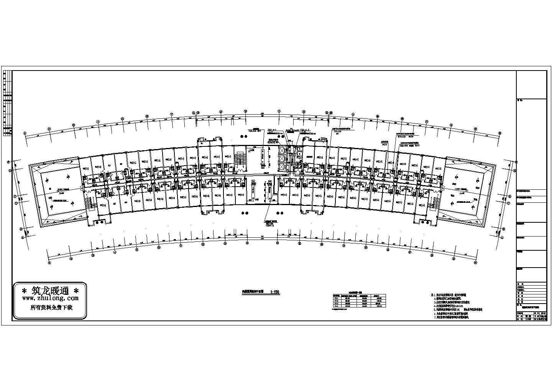 某综合办公楼空调设计图(共5张图纸)图片1