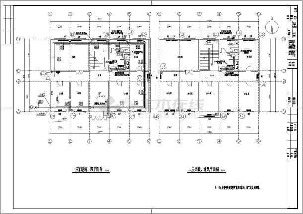 点击查看某办公楼采暖通风设计施工图第2张大图