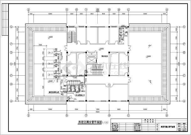 医院影像楼暖通设计施工图-图二