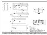 连续刚构桥0#1#块三角托架设计图图片1