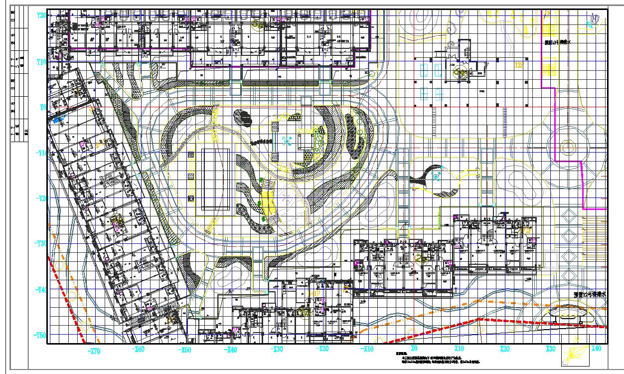 [南安]住宅小区中庭绿地植物配置设计施工图图片2