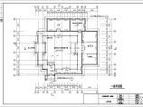 梦草园园林建筑设计图――敝帚居施工大样图图片3