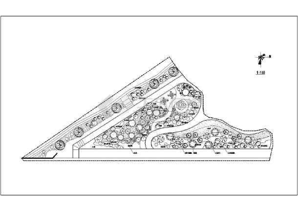 点击查看某主题公园园林景观施工图(共10张图纸)第1张大图