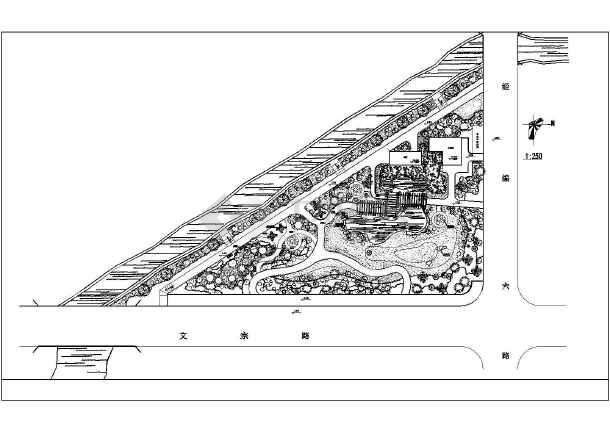 点击查看某主题公园园林景观施工图(共10张图纸)第2张大图