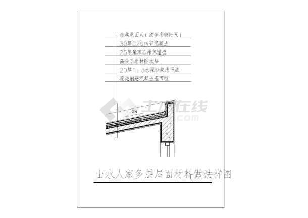 点击查看浙江某高档花园住宅小区园林景观施工图(图纸齐全)第1张大图