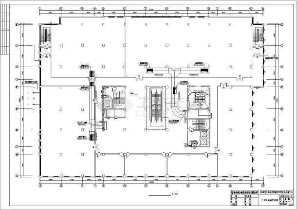点击查看某地上十五层框架剪力墙结构综合楼暖通施工图第2张大图