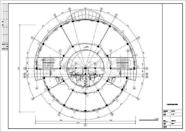 点击查看某综合楼采暖通风图第2张大图