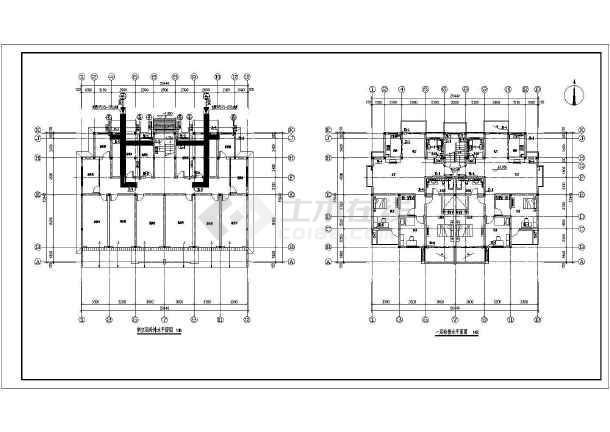 某五层住宅楼给排水设计施工图-图二