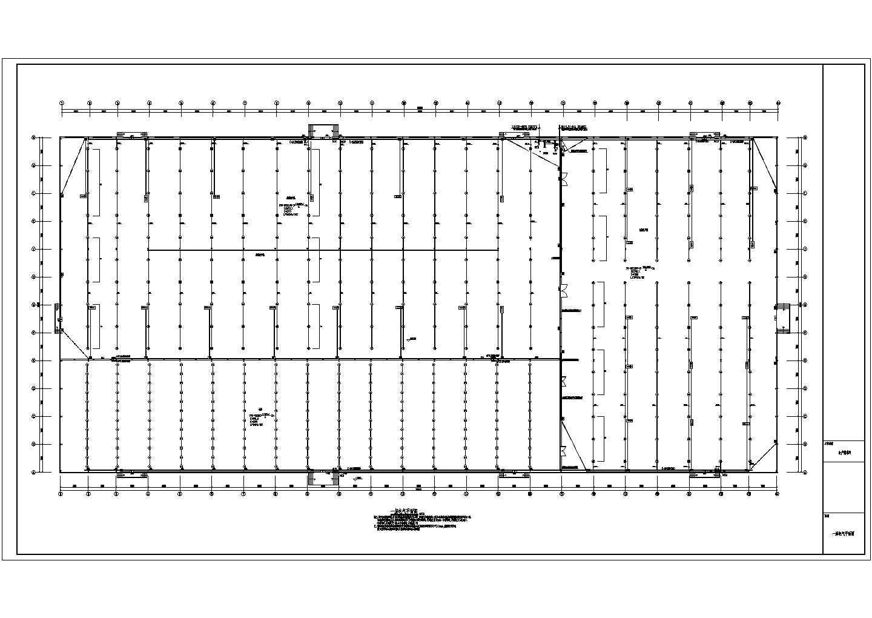 某单层厂房电气施工图图片3