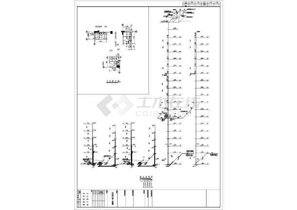某十八层小区18#楼给排水设计施工图-图一