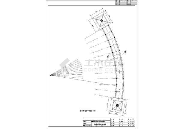 点击查看小区会所前景观园林施工套图第1张大图