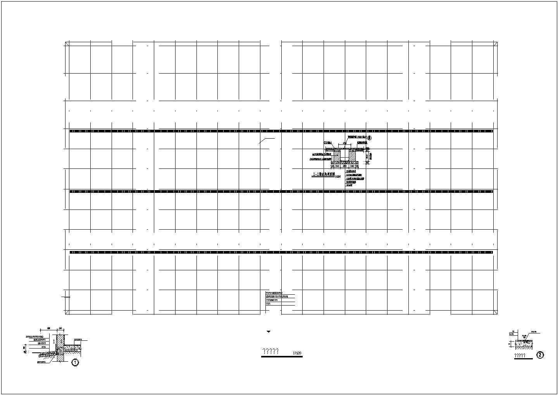 某单层木屋架结构厂房施工图,共9张图图片2