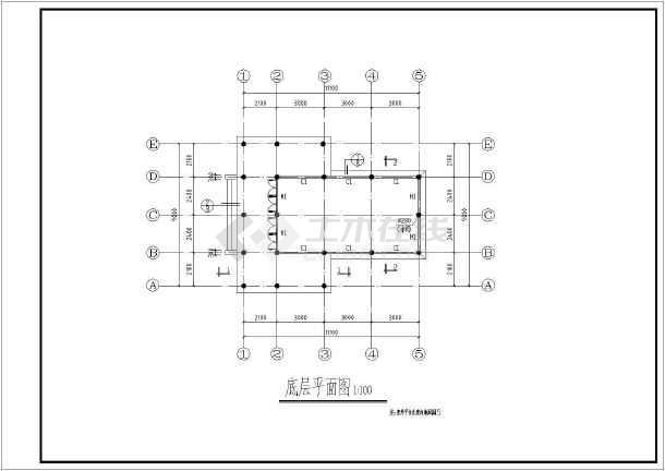 点击查看某园林古建全套施工图(共34张图纸)第1张大图