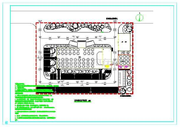 点击查看城西村某框架结构文化礼堂给排水施工图(建筑高度四米)第2张大图