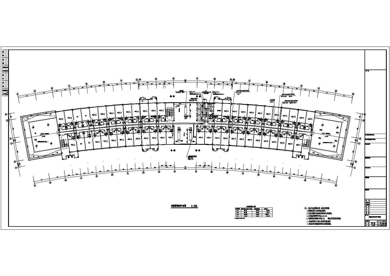 某综合办公楼空调风系统平面图图片2