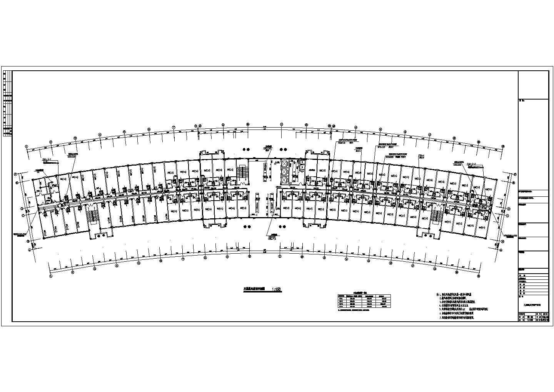 某综合办公楼空调风系统平面图图片3