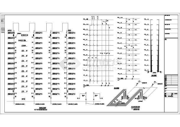 点击查看十二层联拼小高层给排水经典施工图第2张大图