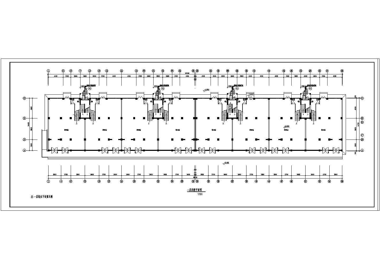 渑池县某商住楼采暖平面图(含设计说明)图片3