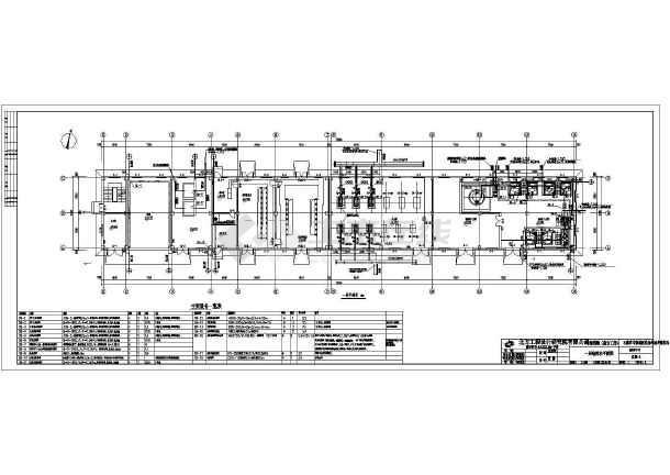 污水处理厂6号综合工房给排水施工图-图一