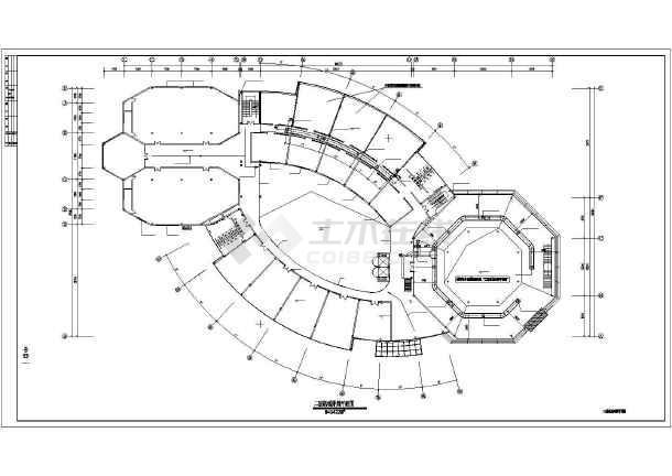 点击查看某四层办公建筑机械排烟平面图(共5张图纸)第2张大图