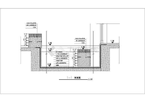 点击查看某市工业园区中央商业街园林施工图第2张大图