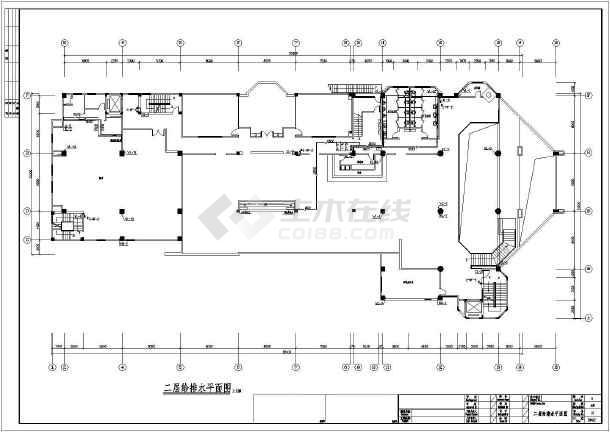 某七层酒店给排水施工图-图二