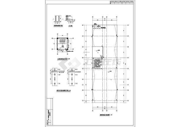 某三层办公楼空调通风平面图(共6张图纸)-图二