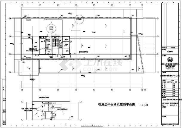 业务处理一号楼给排水施工图-图一