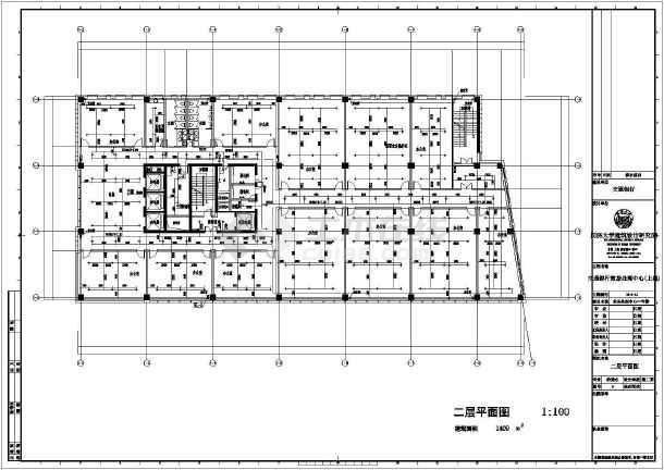 业务处理一号楼给排水施工图-图二