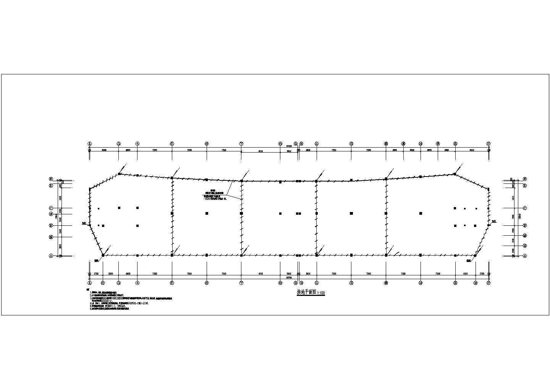 多层办公楼电气施工cad图,含施工说明图片1