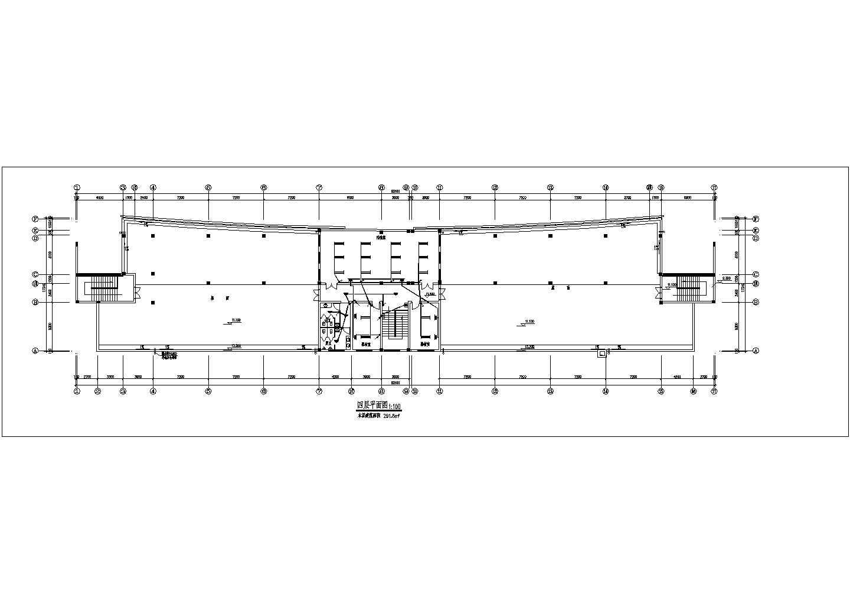 多层办公楼电气施工cad图,含施工说明图片3