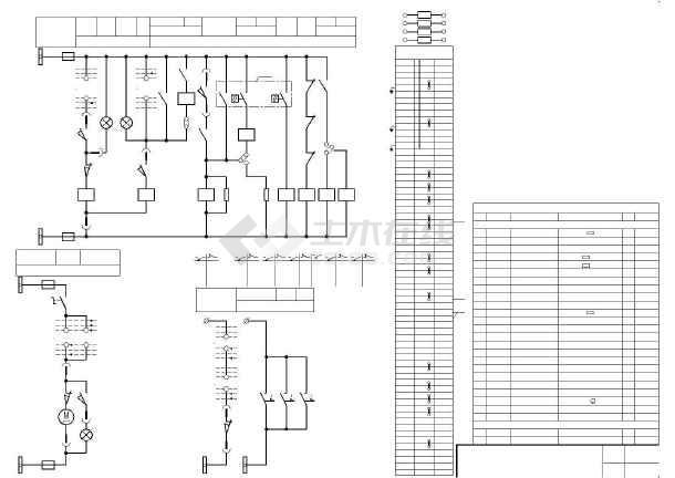 6~10KV变压器二次原理图-图一