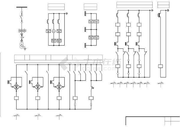 6~10KV变压器二次原理图-图二