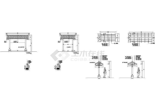 成都小区园林全套景观设计施工图-图二